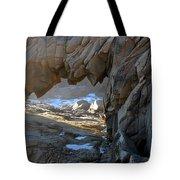 Dragons Teeth Salt Point California Tote Bag