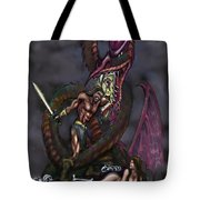 Dragonslayer Tote Bag