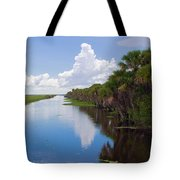 Drainage Canals Make Farming Possible In Florida Tote Bag