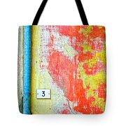 Drainpipe Amazing Wall And Number Three Tote Bag