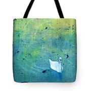 Drake Park Swan Tote Bag