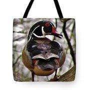Drake Wood Duck 2 Tote Bag