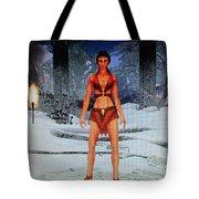 Drakkin Lady Tote Bag