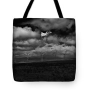 Drama In Black And White Tote Bag by Windy Corduroy