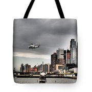 Drama In The City 8 Tote Bag