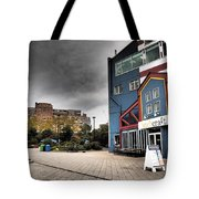Drama In The City 9 Tote Bag