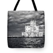 Drama In The Clouds Tote Bag