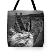 Drama Of The Sea Tote Bag