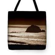 Drama On Big Sur Tote Bag