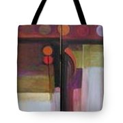 Drama Too Diptych Tote Bag
