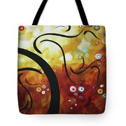 Drama Unleashed 1 Tote Bag by Megan Duncanson