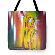 Drama Woman Tote Bag