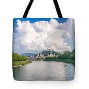 Dramatic Clouds Over Salzburg Tote Bag