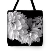 Dramatic Dahlias Tote Bag