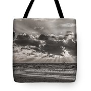 Dramatic Dutch Coast Tote Bag