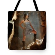 Dramatic Fashion Pose Tote Bag