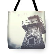 Dramatic Lighthouse Tote Bag