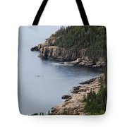 Dramatic Maine Coastline Tote Bag
