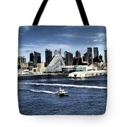 Dramatic New York City Tote Bag