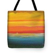 Dramatic Sky Beach Tote Bag
