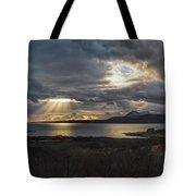 Dramatic Skye Tote Bag