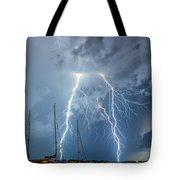 Dramatic Strike Tote Bag