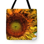 Dramatic Sunflower Tote Bag