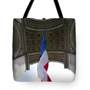Drapeau Francais Tote Bag