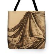 Draped Fabric Tote Bag