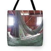 Draping Nets 2 Tote Bag