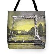 Draw Bridge In Meppel, Holland 2016 Tote Bag