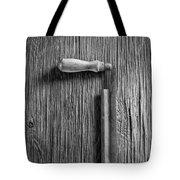 Draw Knife Tote Bag