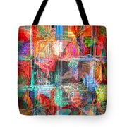 Draw On His Strength Tote Bag