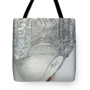 Drawing A Masterpiece  Tote Bag