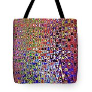 Drawing Color Abstract#5335wctw Tote Bag