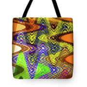 Drawing Color Squares Abstract Tote Bag