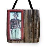 Drawing John Wayne Hondo  Medicine Horse Black Canyon City Arizona 2005 Tote Bag