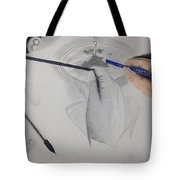 Drawing The Drawing Tote Bag
