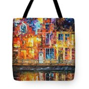 Drawing The Town  Tote Bag