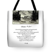Drawn To You Tote Bag