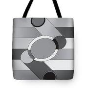 Drawn2shapes9bnw Tote Bag