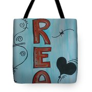 Dream Acrylic Watercolor Tote Bag