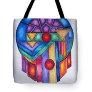 Dream Catcher Abstract Tote Bag