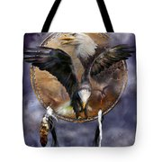 Dream Catcher - Spirit Eagle 3 Tote Bag