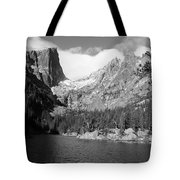 Dream Lake, Rocky Mountain National Park  Tote Bag