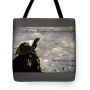 Dream Of Being An Eagle Tote Bag