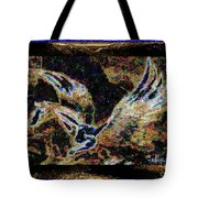 Dream Of The Horse With Painted Wings  Tote Bag