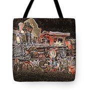 Dream Train  Tote Bag