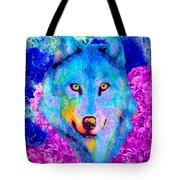 Dream Wolf Tote Bag