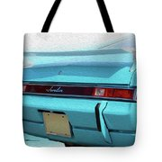 Amx Blue Blast Tote Bag